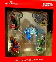 Hallmark DC Super Friends 5-Christmas Tree Ornaments [Brand New] - $40.85