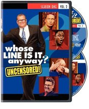 Whose Line Is It Anyway? Season 1, Vol 2 [DVD] Uncensored! - $8.95