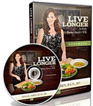 Live Longer with the Brain Doctor's Wife Cookbook [CD-ROM ~ Brand New] - $19.77