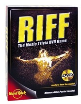Riff [Brand New]The Music Trivia DVD Game - $22.42