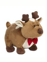 Brown Rennie the Reindeer Holiday Plush by Ganz [Brand New] - $17.98