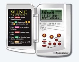 "Excalibur Electronic Handheld WineMaster - ""The Wine Enthusiast"" - $15.77"