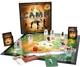 """""""Camp"""" Board Game ~ The Game That Grows With You [Game Complete] - $29.60"""