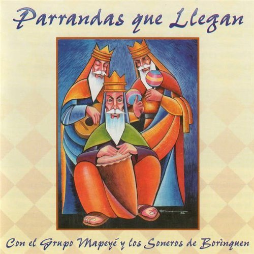 Primary image for Parrandas Que Llegan [Audio CD, Brand New]