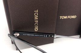 New TOM FORD Classic Eyeglasses TF 5482 001 50-21 Black & Silver Titanium Frames image 8