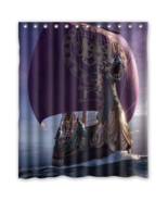 Painting Viking Long Ship #01 Shower Curtain Waterproof Made From Polyester - $31.26+