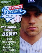 The Ultimate Baseball Trivia  [Brand New] 300 Questions & 3 Levels Diffi... - $27.57