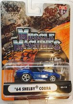 Muscle Machines Blue '64 Cobra 427 [Brand New] 1:64 Scale Die Cast - $51.71