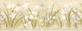 "Brewster ""Butterfly Meadow"" Wallpaper Border [Brand New] - $28.45"