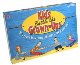 Kids Battle the Grown-Ups [Board Game ~ Brand New] - $48.06