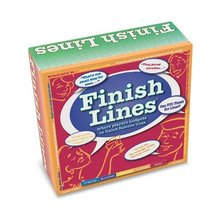 Finish Lines ~ Where Players Compete To Finish Famous Lines [Game Complete] - $29.04