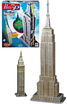 468 Piece 3D Empire State Building Puzzle [New] +101 Piece Met Life Tower Puzzle - $35.30