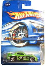 Hot Wheels 2006 Drift Kings 24/Seven Green #053 [Brand New] - $13.32
