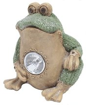 Ganz Knit Frog Light Up Figurine [Brand New] - $29.67