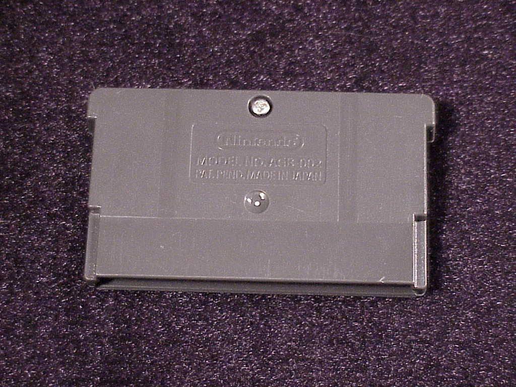 Game Boy Advance Kim Possible 3 Team Possible Game Cartridge GBA, AGB-BQPE-USA