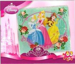 """63 Piece Disney Princess Puzzle """"Flirty Flowers"""" [Brand New] - $17.51"""
