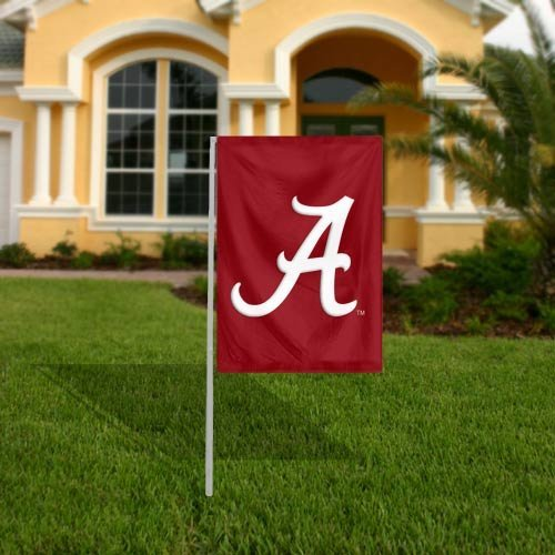 NCAA Alabama Crimson Tide 17.5'' x 12.5'' Garden Flag [Brand New]