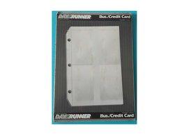 DayRunner Personal Organizer Busines/Credit Card Holder 3 Hole Punch [Br... - $19.81