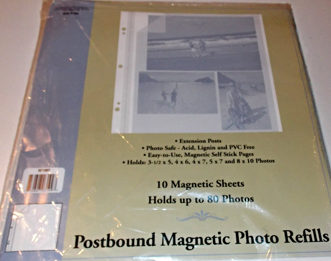300 BCW Pro 2-Pocket 5 x 7 Photo Album Pages 5x7 clear 3-ring binder sheets