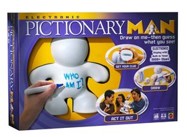 Electronic Pictionary Man Game (Game Complete) - $19.79