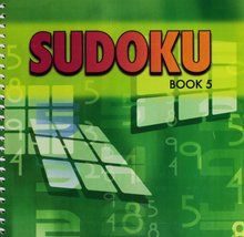 Sudoku Book 5 [Spiral-bound ~ Brand New] Berryland books - $22.69