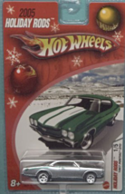2005 Hot Wheels Holiday Rods #1 of 5 1967 Pontiac GTO (SILVER) [Brand New] - $15.00