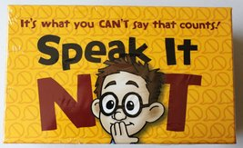 Speak It Not [Game Complete] It's What You Can't Say That Counts! - $19.87