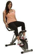 Cardio Equipment Exercise Bike Exerpeutic 400XL Folding Recumbent 1110 S... - $206.56