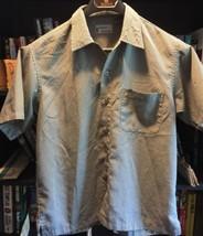 Pineapple Connection Mens Short Sleeve Shirt Hawaiian Tiki Cubavera  Medium - $10.66