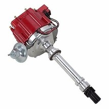 6001D SBC BBC Small or Big Block Chevy Electronic HEI Distributor Red 350 454