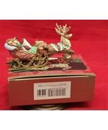Hallmark Keepsake Santa's Magical Sleigh 1997 Artis's Studio Collection ... - $19.72