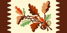 "Latch Hook Pattern Chart: READICUT #833 MAPLE LEAVES 27"" x 54"" - EMAIL2u - $6.95"