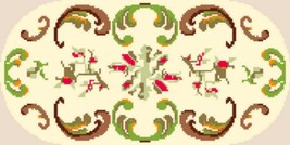 "Latch Hook Pattern Chart: READICUT #286 FELICITY 27"" x 54"" oval - EMAIL2u - $6.95"