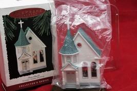 Hallmark Keepsake Town Church Nostalgic Houses & Shop Collection 1995 NIB  - $13.12