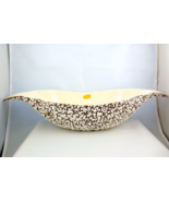 Royal Haeger White Stone Lace console centerpie... - $55.00