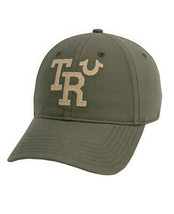 True Religion Men's TR Embroidered Vintage Baseball Cap Sports Strapback Hat image 2