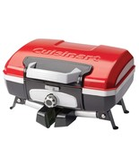 Cuisinart CGG-180T Petit Gourmet Portable Tabletop Gas Grill, Red - $128.74