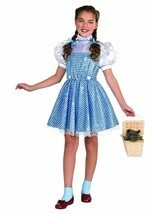 NEW Wizard of Oz Dorothy Sequin Child Halloween Costume by Rubies, S (3-4) - £18.80 GBP
