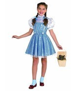NEW Wizard of Oz Dorothy Sequin Child Halloween Costume by Rubies, S (3-4) - £19.08 GBP