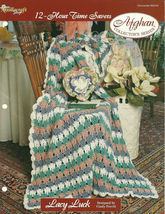 Needlecraft Shop Crochet Pattern 962340 Lacy Luck Afghan Collectors Series - $4.99