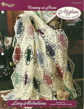 Needlecraft Shop Crochet Pattern 962330 Lacy Medallions Afghan Collector... - $4.99