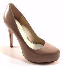 Jessica Simpson Parisah Nude Patent Pointy High Heel Platform Pumps Size... - $62.30