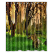 Paliano Landscape #01 Shower Curtain Waterproof Made From Polyester - $31.26+