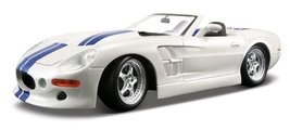 Maisto 1:18 Scale White Shelby Series One (Brand New) - $69.28