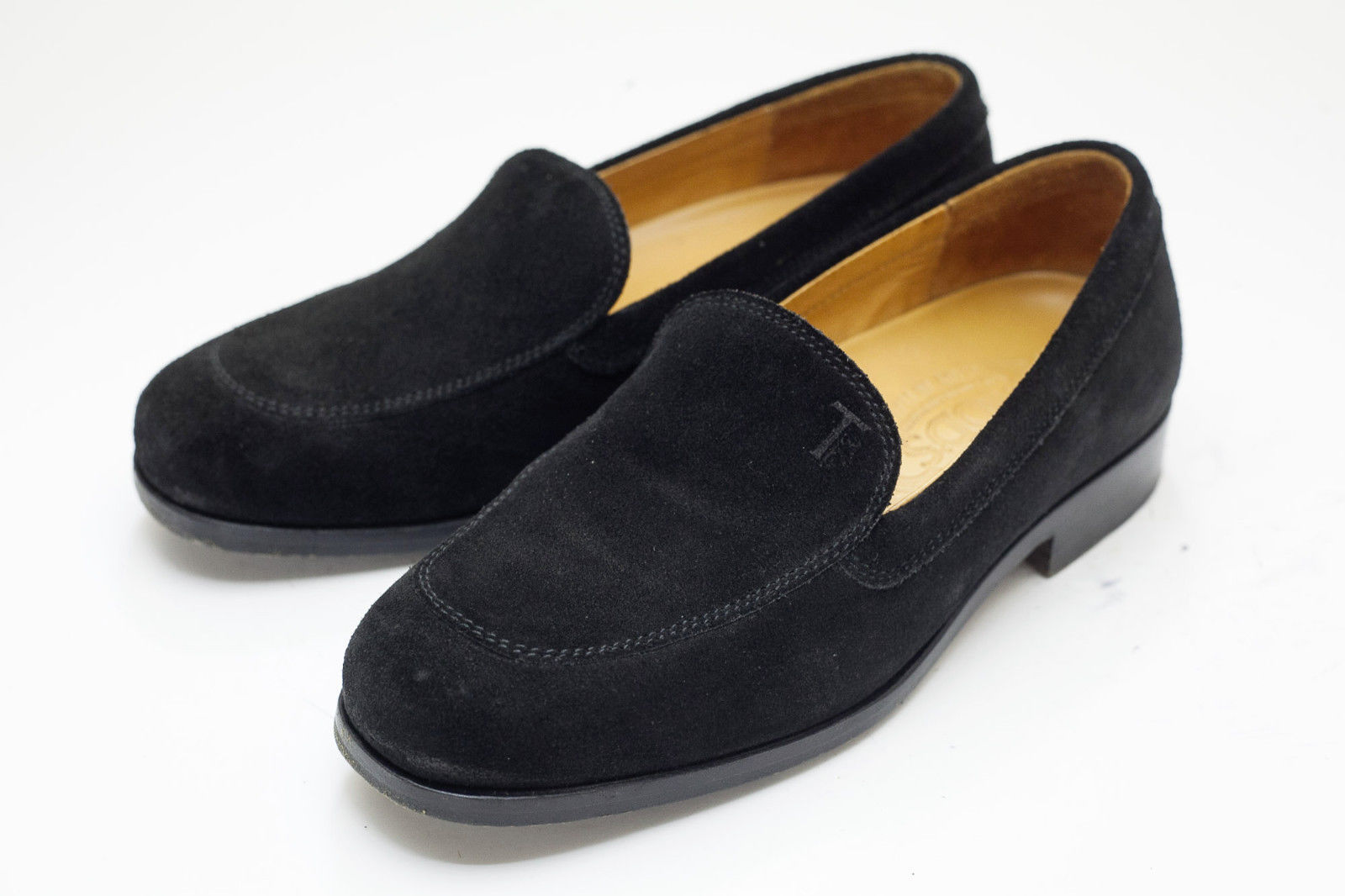c1eb06d9867 Tod s 4 Black Suede Loafers Womens Shoes and 42 similar items. 57