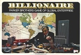 Billionaire - Parker Brothers Game of Global Enterprise [Board Game Comp... - $27.69