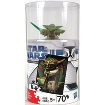 "70 Piece Puzzle ""Yoda Galactic Heroes"" [Brand New ~ Yoda Figurine Included] - $38.93"
