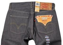 Levi's 501 Men's Original Fit Straight Leg Jeans Button Fly Gray 501-0631