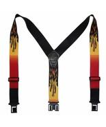 New Perry Suspenders Mens Elastic Hook End Flames Suspenders (Reg & Tall) - $19.50