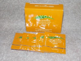 Avon Elements Skin Revitalize Night Radiance Cream 5 Samples Box .04 oz/1.1g New - $6.92